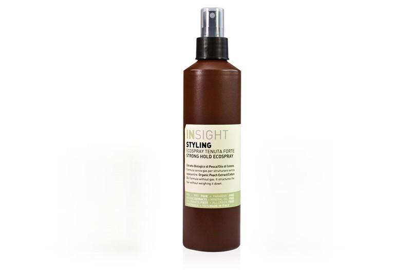 INSIGHT STYLING STRONG HOLD ECOSPRAY / Эко лак сильной фиксации с хлопковым маслом (250 мл)