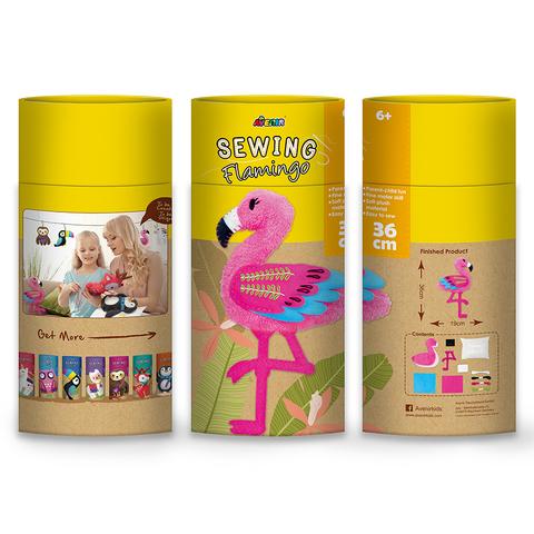 Набор для шитья.Мягкая игрушка: фламинго. Avenir