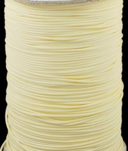 Шнур нейлон вощеный 1.0 мм. светло-желтый