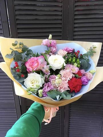 Букет с розами  #9845