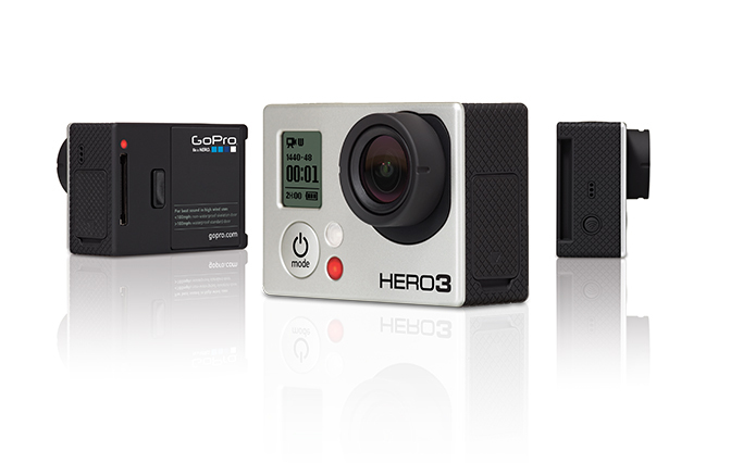 Камера GoPro HERO3: Silver Edition