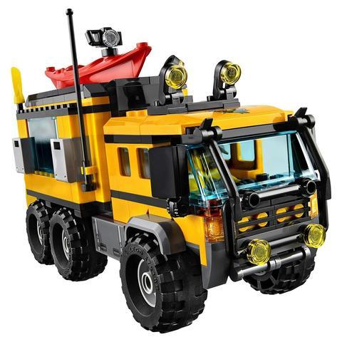 LEGO City: Передвижная лаборатория в джунглях 60160 — Jungle Mobile Lab — Лего Сити Город