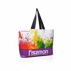 527 FISSMAN Промо-сумка 50x12x40см с логотипом, цвет Фиолетовый