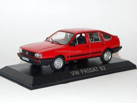 VW Passat B2 Volkswagen red 1:43 DeAgostini Masini de legenda #83