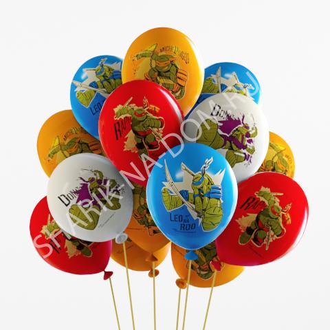 """Воздушные шары под потолок Воздушные шары """"Черепашки Ниндзя"""" Шары_Черепашки_Ниндзя.jpg"""