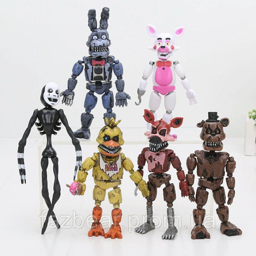 Кошмарные аниматроники 5 ночей с Фредди