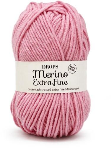 Пряжа Drops Merino Extra Fine 25 розовый