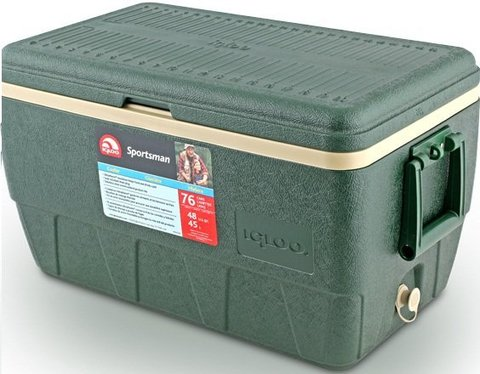 Изотермический контейнер (термобокс) Igloo Sportsman 52 (термоконтейнер, 50 л.)