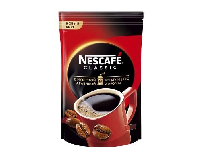 купить кофе растворимый Nescafe Classic, 1 кг пакет