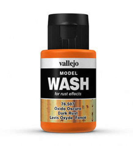 Dark Rust Wash 35 ml.