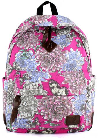 Рюкзак PYATO Пионы Розовый