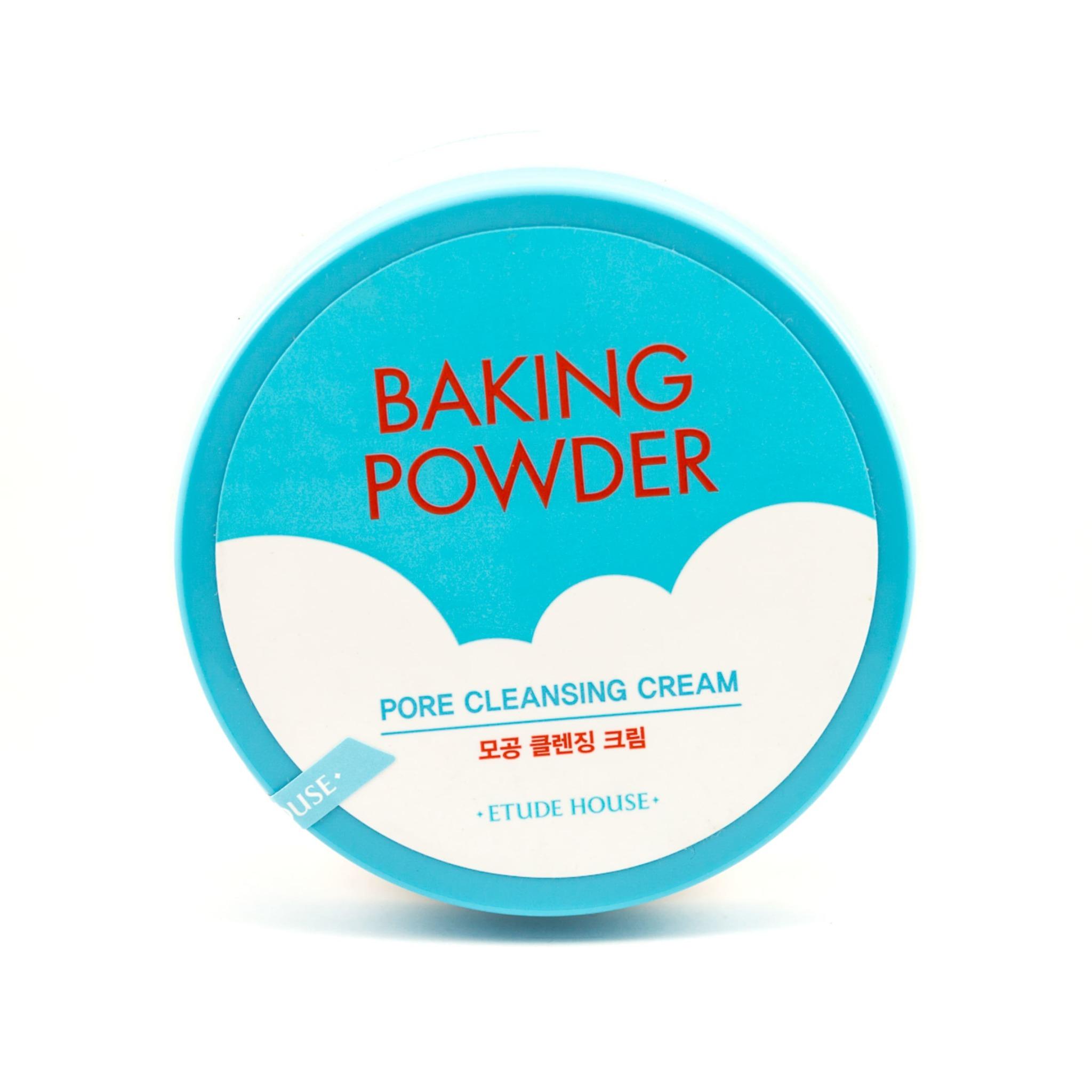 Очищающий крем для лица с содой - Etude House Baking Powder Pore Cleansing Cream