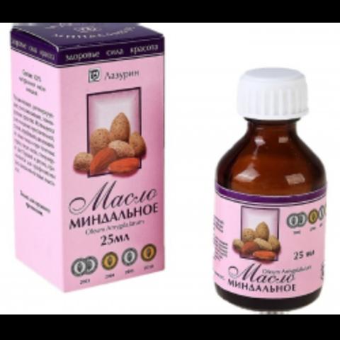 Жирное масло Миндальное 25 мл, Лазурин