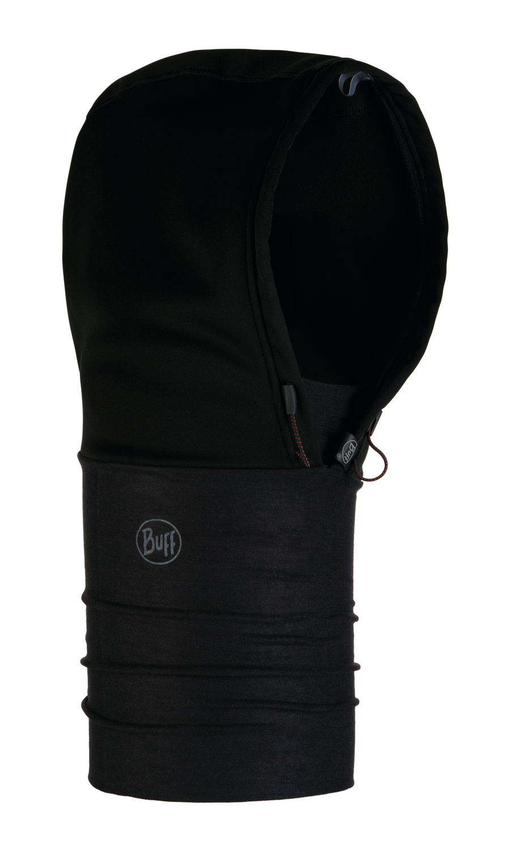Капюшоны Шарф-капюшон непродуваемый Buff Solid Black 118819.999.10.00.jpg