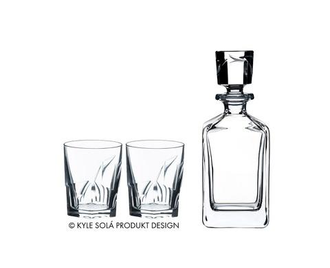 Набор из 3-х предметов для крепких напитков Louis Whisky Set 3, артикул 5515/02 S2. Серия Whisky Set