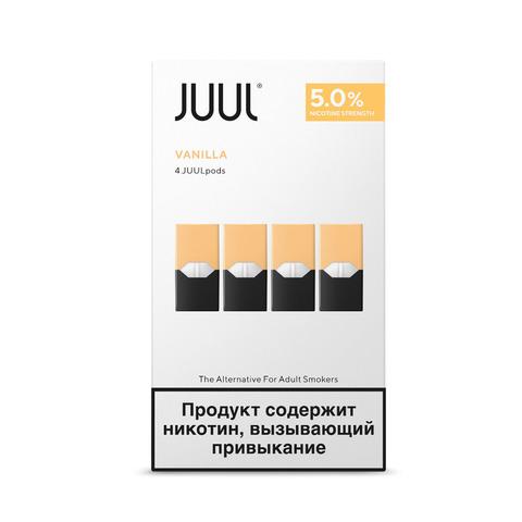 Картриджи JUUL Ваниль 5% 4 шт