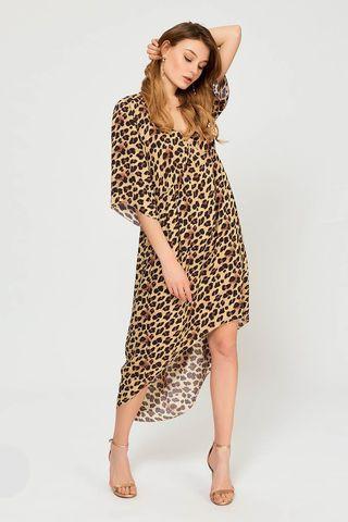 Туника 60488L-3 леопард Laete
