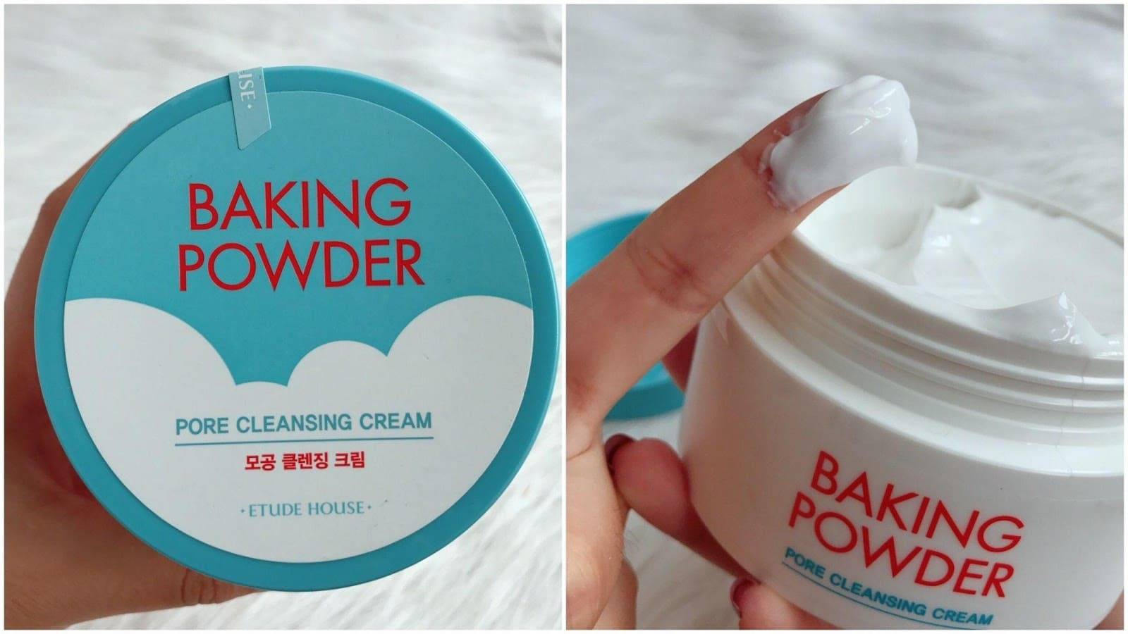 Нежный крем для лица с содой - Etude House Baking Powder Pore Cleansing Cream
