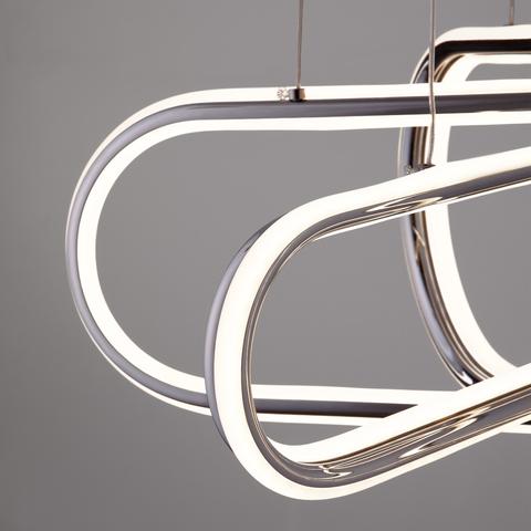 Подвесной светодиодный светильник 90172/6 хром
