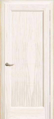 Дверь Новая волна Р (ясень белый жемчуг, глухая шпонированная), фабрика Океан