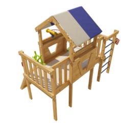 Детская игровая кровать-чердак Винни