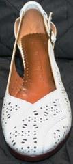 Босоножки с закрытым носком и пяткой Marani Magli 031 405 White.