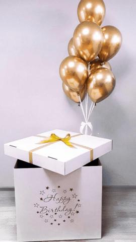 Коробка с шарами На День Рождения