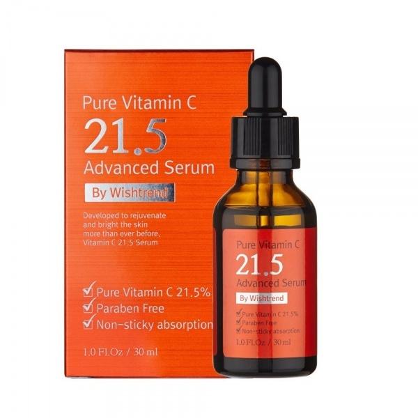 Сыворотка By Wishtrend Pure Vitamin C 21.5% Advanced Serum 30 мл