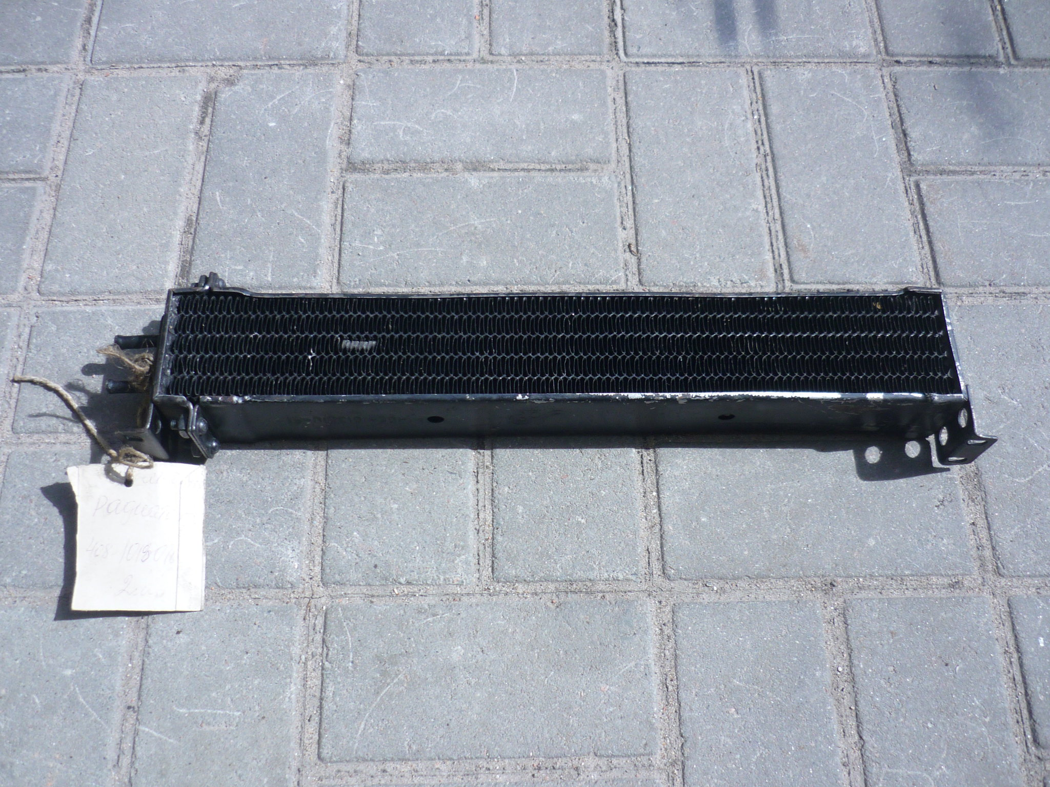 Масляный радиатор двигателя Москвич 408