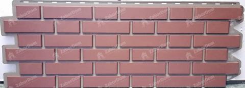 Фасадная панель Альта Профиль Кирпич клинкерный Жженый 1220х440 мм