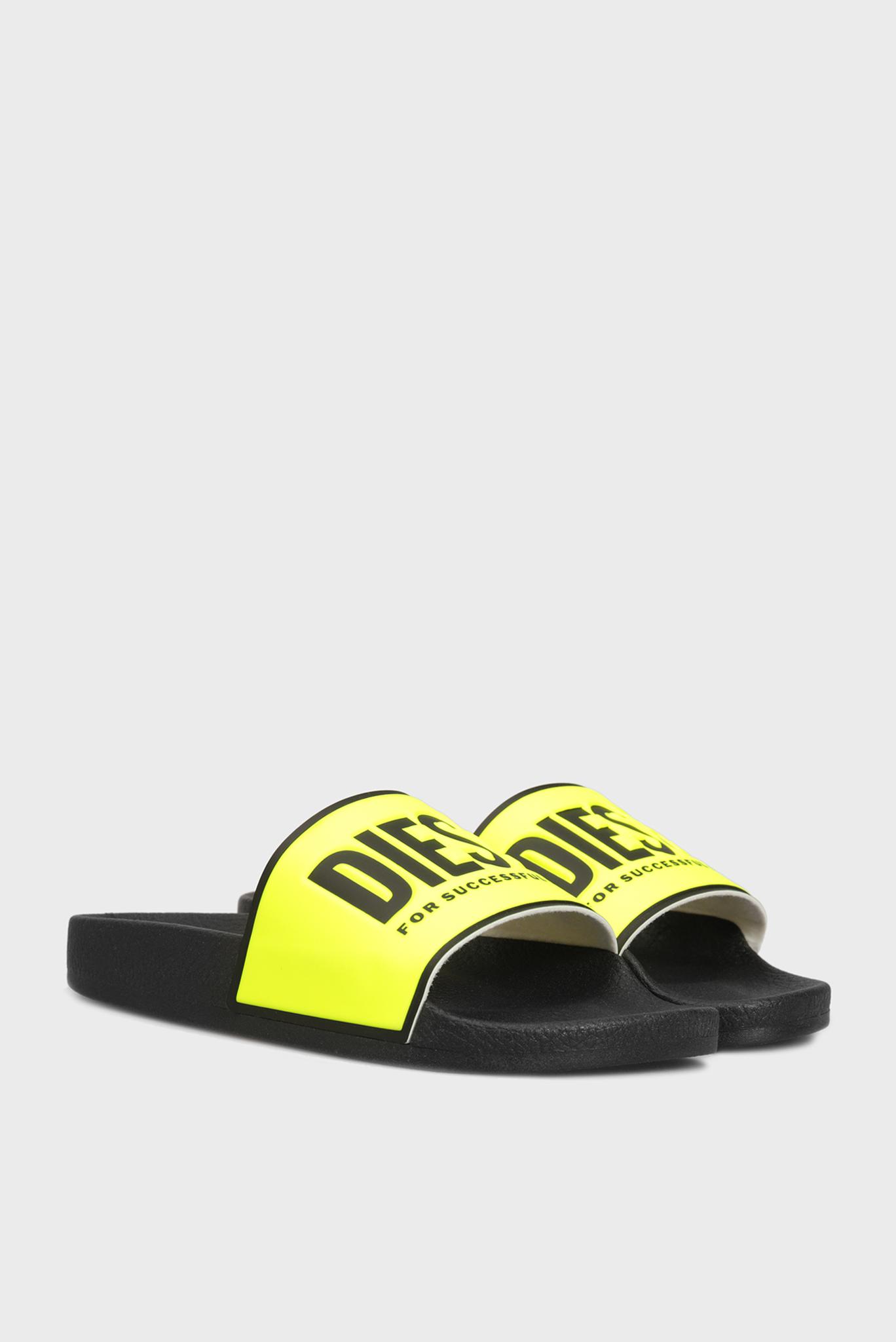 Женские желтые слайдеры VALLA Diesel