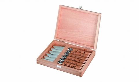 Набор ножей складных Opinel №8 VRI Animalia (6 штук)