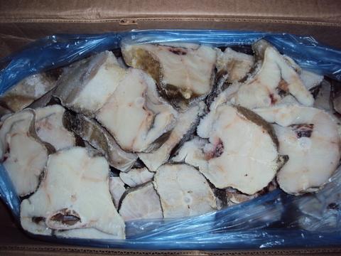 Стейк трески сухой заморозки - коробка 8 кг (кор.)