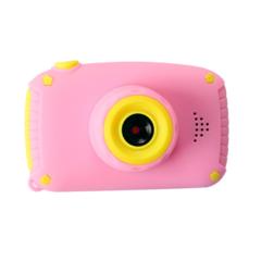 Фотоаппарат детский SmileZoom Мишка 20 Мп / Розовый +без чехла
