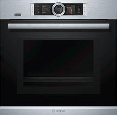 Духовой Шкаф С Микроволнами И Паром Serie 8 Bosch HNG6764S6 фото