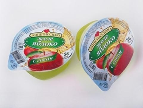 """Желе """"Аппетиссимо"""" с соком яблока 150 г"""