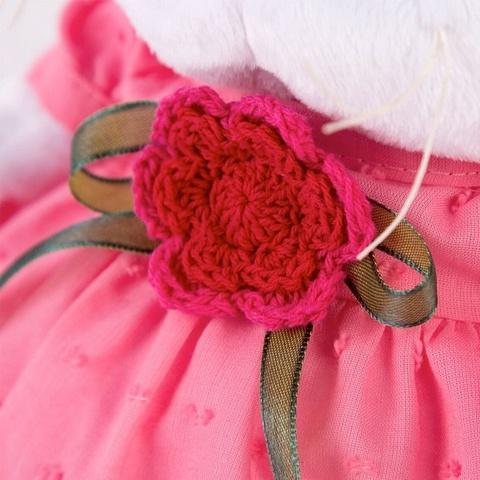 Ли-Ли Baby в платье с вязаным цветочком