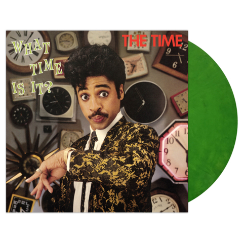 The Time / What Time Is It? (Coloured Vinyl)(LP)