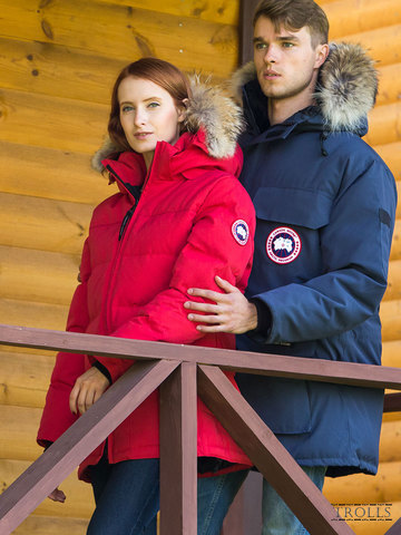 Canada Goose пуховики SOLARIS PARKA и Expedition Parka