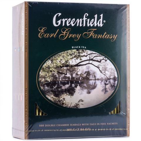 Чай чёрный Greenfield Earl Grey Fantasy 100*2г