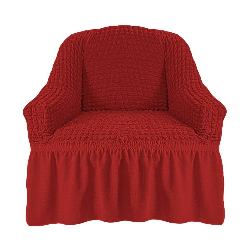 Чехол на кресло, терракотовый