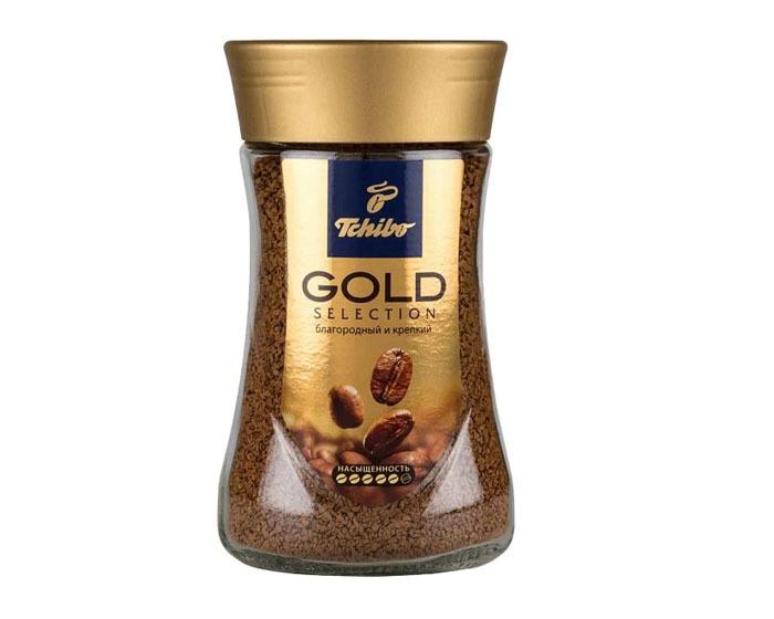 купить Кофе растворимый Tchibo Gold Selection, 190 г