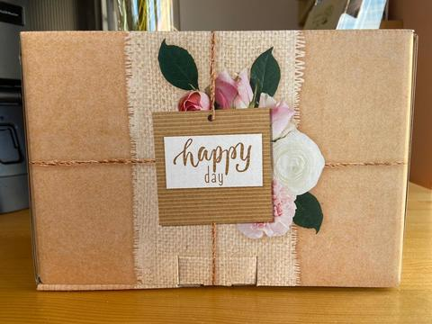 Коробка‒пенал Happy day, 22×15×10см