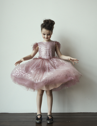 "Шикарное платье ""Pink Glam"""
