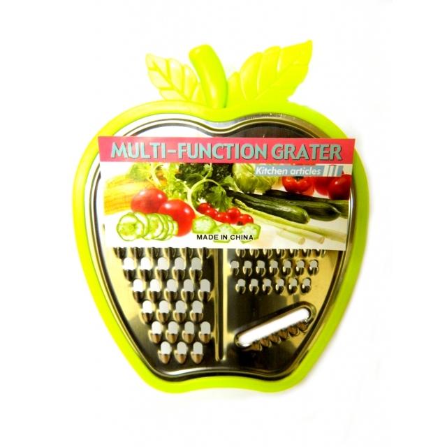 Картинка - Терка с лотком в форме яблока