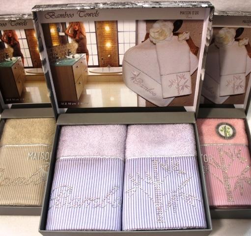 Наборы салфеток Набор салфеток BAMBU  БАМБУ в размере 30х50  Maison Dor Турция BAMBU__1_.JPG