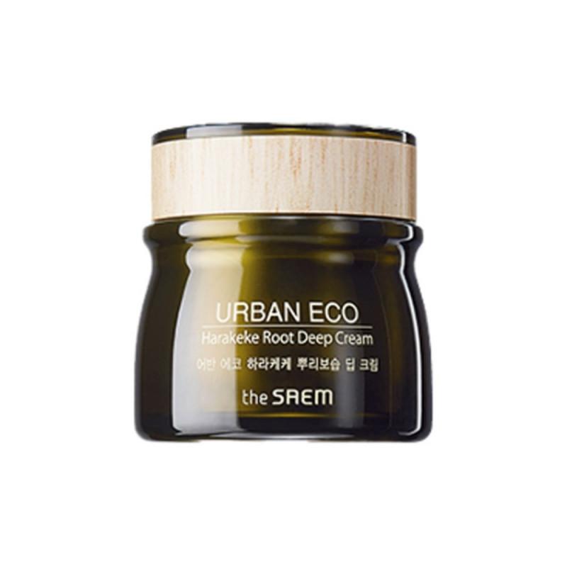 Глубоко увлажняющий крем с экстрактом корня новозеландского льна The Saem Urban Eco Harakeke Root Deep Cream 60ml