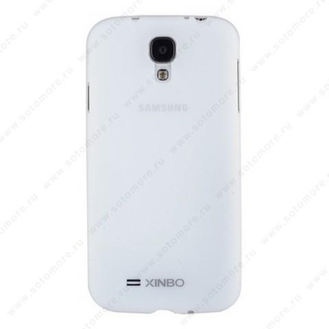 Накладка XINBO пластиковая для Samsung Galaxy S4 i9500/ i9505 белая