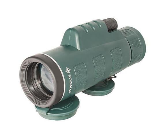 Монокуляр STURMAN 10x42, зеленый - фото 1