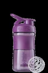 BlenderBottle SportMixer, Универсальная Спортивная бутылка-шейкер с венчиком.  Plum-сливовый 591 мл
